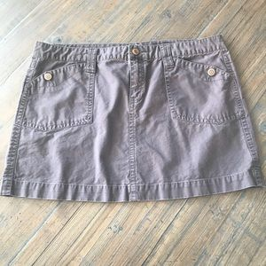 Women's Old Navy size 14 brown skirt